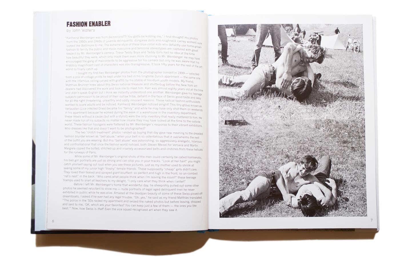 Karlheinz Weinberger: REBEL YOUTH : Issue Magazine