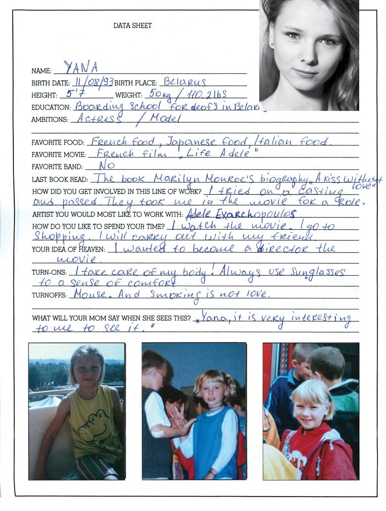 Yana Novikova Nude Photos 62